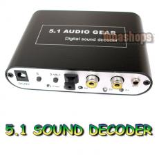 HD Audio Rush 5.1 Sound Decoder Audio HD Rush Gear