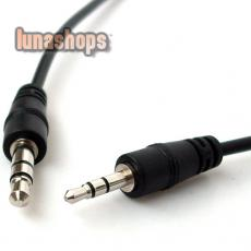 3.5MM MALE TO 2.5MM STEREO AUDIO EXTENSION CABLE CORD 1M