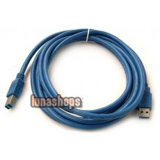 300cm USB 3.0 Type A/B male Super-speed cable for printer scanner modem digital camera