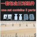protection silica + iron patch + unit seal insulation cotton For Shure SE535 530 E5C Earphone DIY