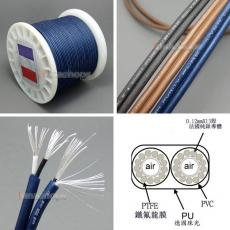120cm High Detinion Stereo Earphone DIY Bulk PURE SILVER Conductors Cable + PEP Insulated