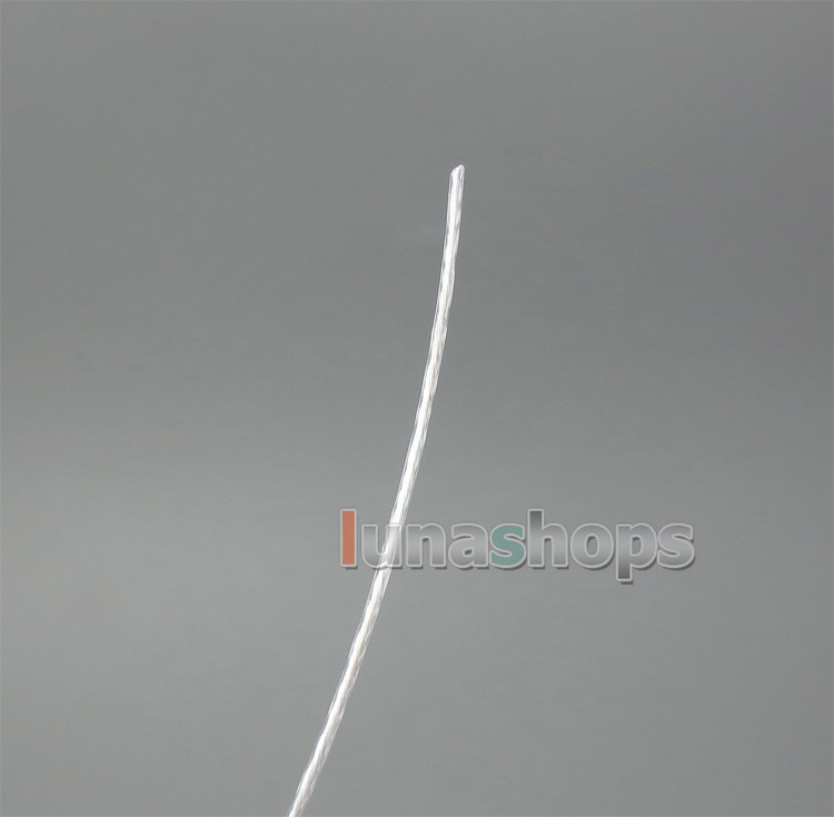 195m Extremely Soft Acrolink Silver + PCOCC Alloy Signal Earphone Cable 21*0.08 0.11mm2 28AWG Dia:0.65mm