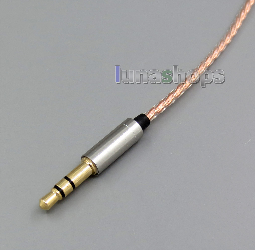 1.2m Copper Shielding Headphone Cable For Sennheiser HD25-1 SP HD650 HD600 HD580 HD525 HD565