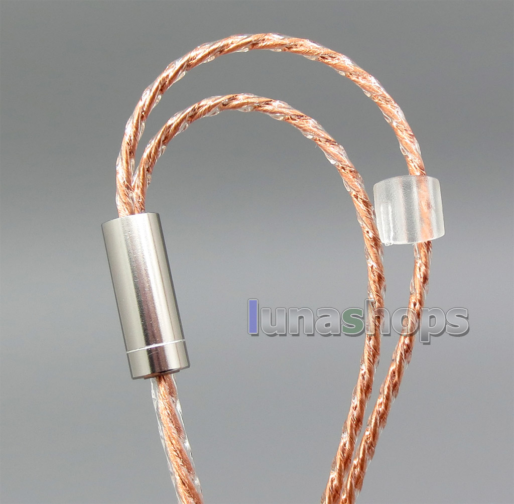 1.2m Copper Shielding Headphone Cable For Sennheiser HD25-1 SP HD650 HD600 HD580 HD525 HD565