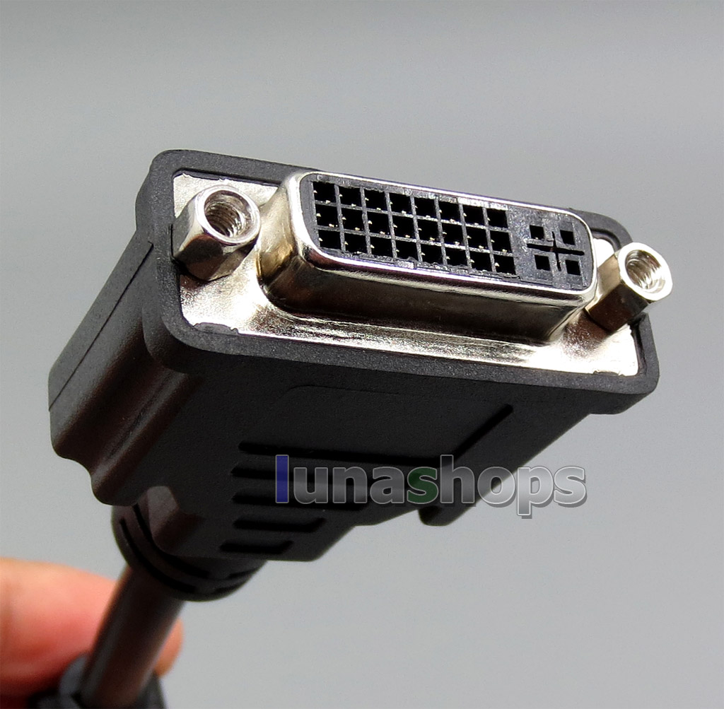DVI 24+5 Female To HDMI Male Cable For PC HDTV