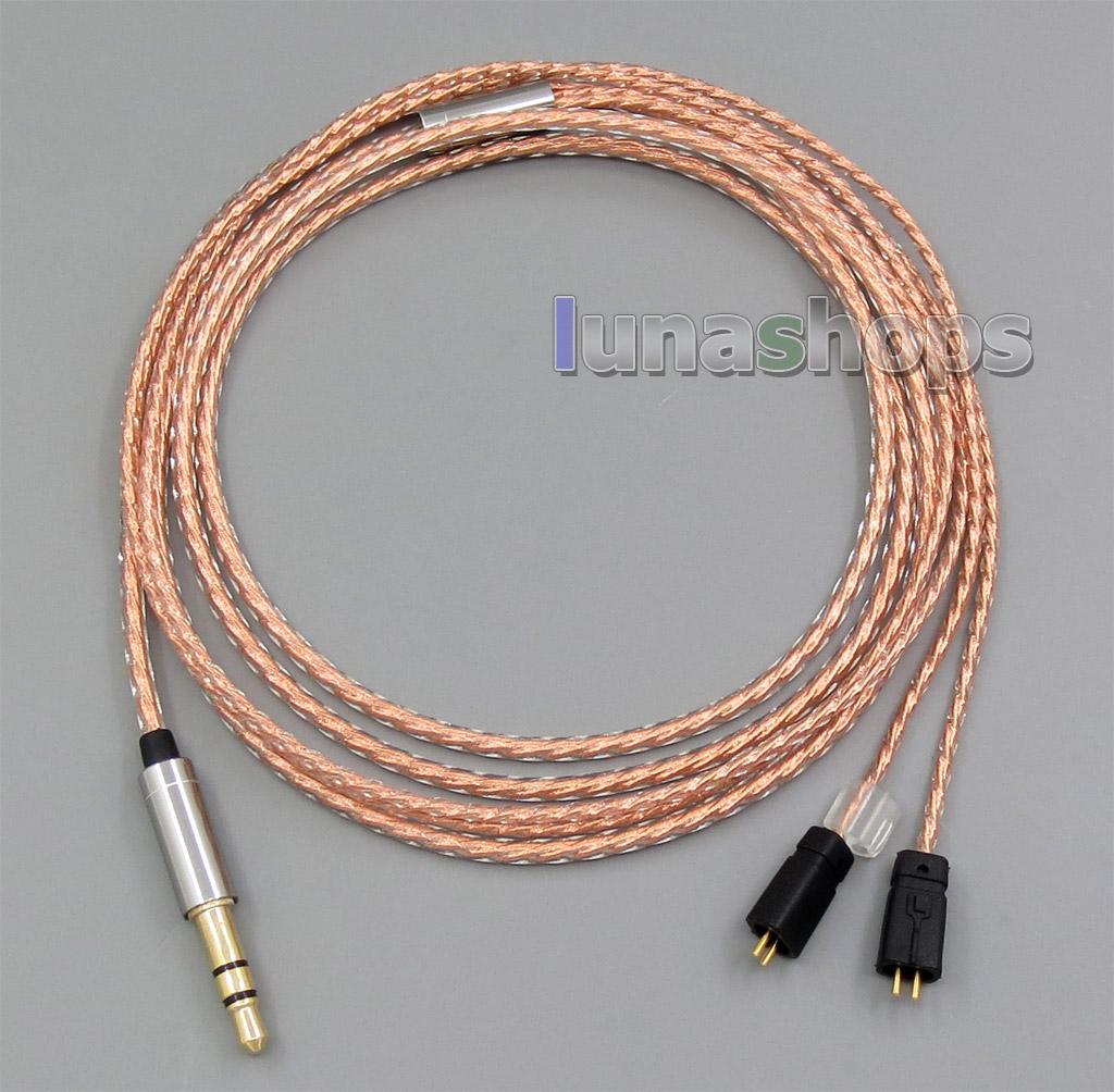 With Slide Block Shielding Earphone Cable For Ultimate Ears UE TF10 SF3 SF5 5EB 5pro TripleFi 15vm TF15