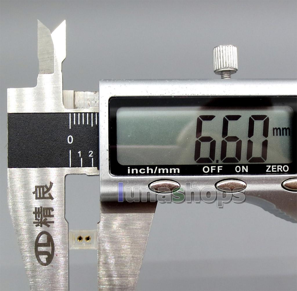 Female Socket 0.78mm Earphone Pins Plug For W4R UE 5PRO ciem UE18 PRO Unique Melody UM Mason MENTOR Miracle