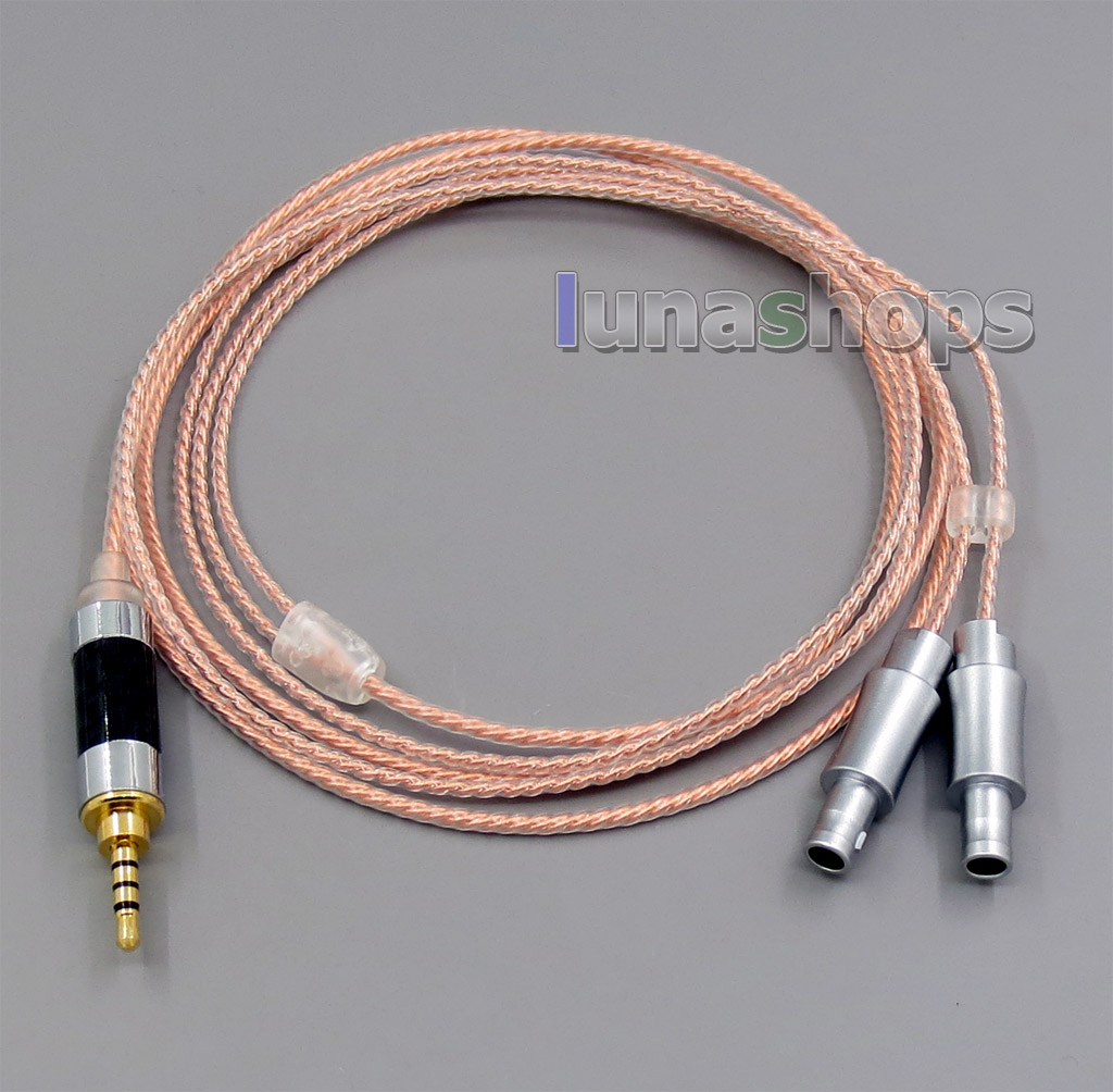 2.5mm Balanced OCC + Silver Plated Copper Cable For Sennheiser HD800 ...