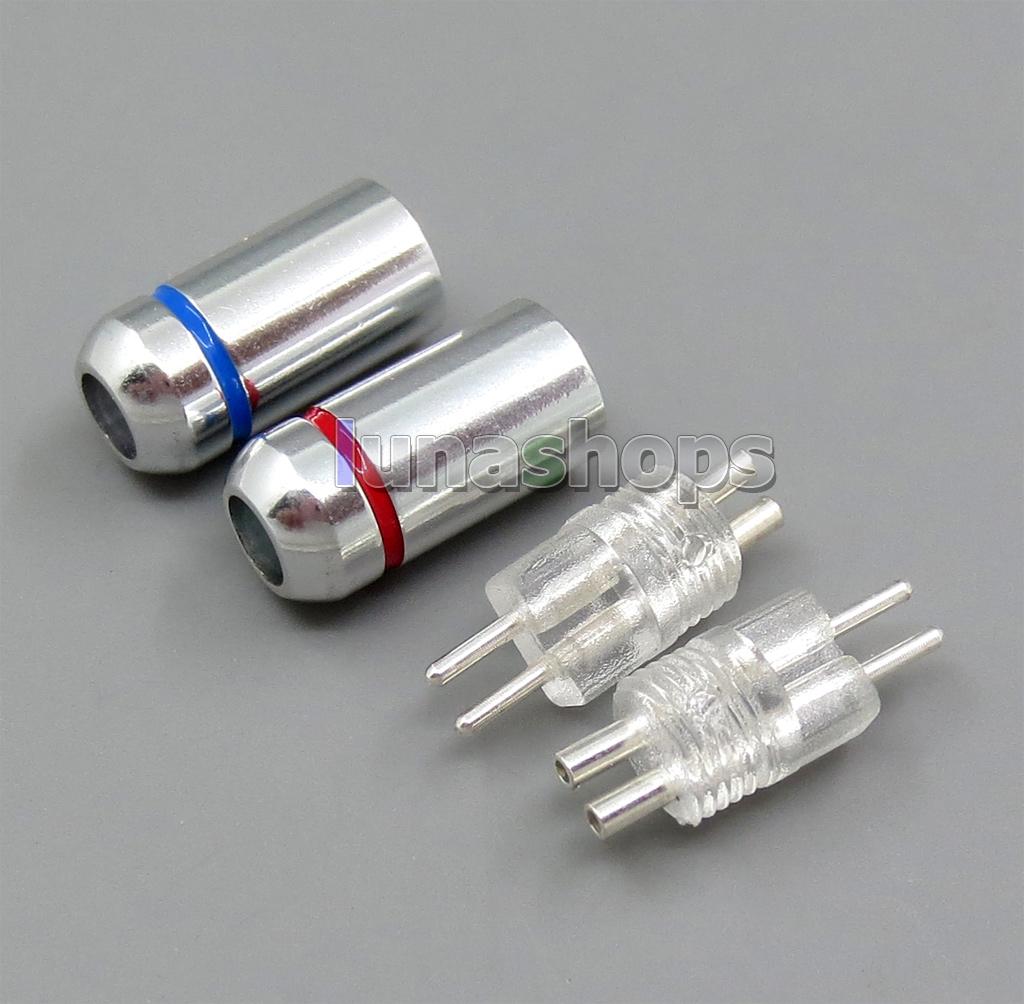 Silver Plated 0.78mm Earphone Pins Plug W4r UM3X UM3RC ue11 ue18 JH13 JH16 ES3 For DIY Westone Cable