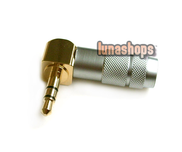 In bulk OFFICIAL Oyaide L Shape mini plug 3.5mm P-3.5 G Male stereo phono Adapter
