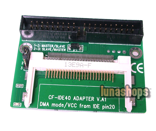 40 Pin IDE To CF Compact Flash Card Adapter Bootable