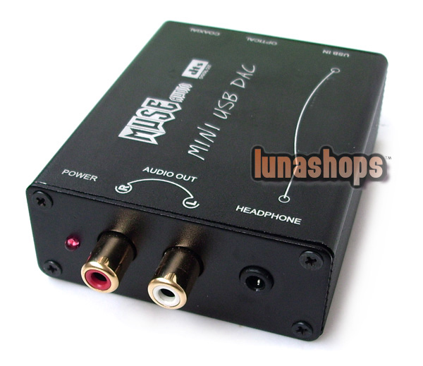 USD$57 00 - MUSE Mini USB DAC HIFI USB to S/PDIF output