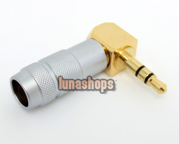 In bulk OEM Oyaide L Shape mini plug 3.5mm P-3.5 G Male stereo phono Adapter